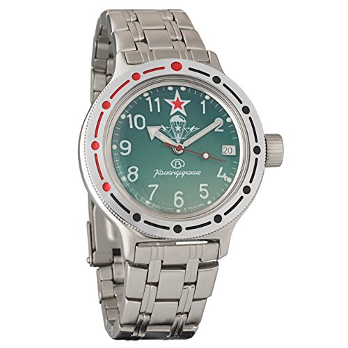 Vostok Amphibian 420307Ruso Militar