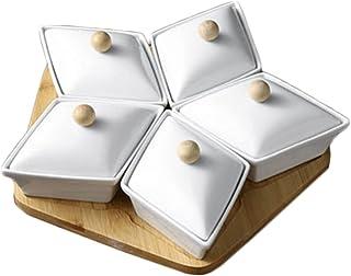 وجبات خفيفة تغمس صواني تقديم فواكه جافة صواني مقبلات صحن مكسرات تقديم طبق صحن صحن وجبات خفيفة مع غطاء