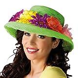 Boland 01286 - Erwachsenenhut Flowers, Einheitsgröße, grün