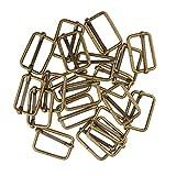 MagiDeal Lot de 20 Pcs Connecteur en Boucle Carrée Accessoire De Bricolage pour Sac à Main DIY Artisant - Bronze#2,...