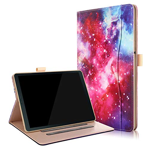 Samsung Galaxy Tab S4 10.5 Case - Stand Folio Case Cover for Galaxy Tab S4 10.5 Inch Tablet SM-T830N / T835N, with Multiple Viewing Angles, Document Card Pocket - Galaxy