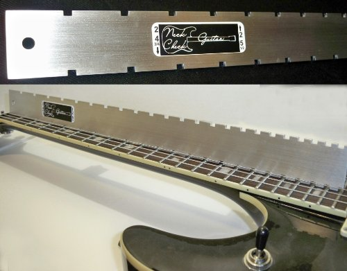 MADE IN USA Guitar Neck Straight Edge (Notched)...