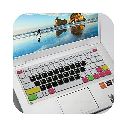 Teclado protector de teclado de 14 pulgadas para Lenovo Yoga 510 14' 510-14Ikb 510-14Ikb 510-14Ast 510 14Ikb 14Ik 14Ast 710 14 -Color 3