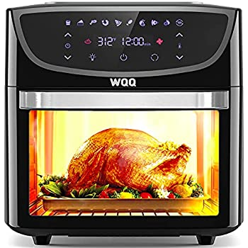 Air Fryer Oven 20 Quart Large Air Fryer Oven Combo 1800W Airfryer Toaster Oven 10 in 1 Multi-Functional Oilless Cooker with 360° Air Circulation / LED Digital Screen / 9 Accessories ETL Certified