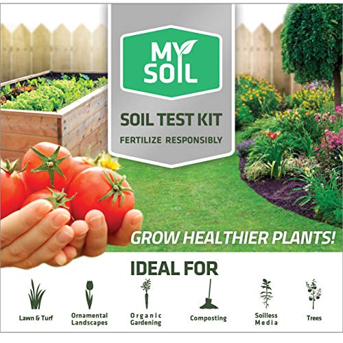 Fantastic Deal! MySoil-Soil Test Kit | Grow The Best Lawn and Garden | Know Exactly What Your Soil a...