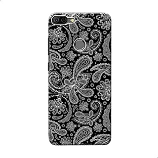 Back Cover Black & White Elegant For Xiaomi Mi 8 Lite - Black White