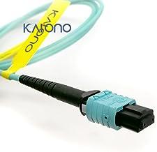 Sponsored Ad - Karono MPO-MPO Fiber Optic Patch Cable, Type B OM3 33 ft (10M) Multimode Fiber, 8 Cores Fiber for QSFP+Tran...