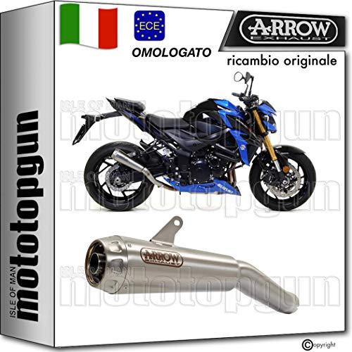 ARROW SCARICO OMOLOGATO PRO-RACE NICHROM FONDELLO INOX COMPATIBILE CON SUZUKI GSX-S 750 2020 20
