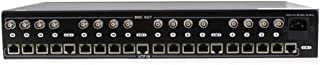 16 Channel Video Balun Power Supply Passive Video Receiver Hub,DC12V 20A 240W