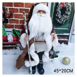 GYYY Christmas Doll Santa Beard Ornaments Handmade Tomte Plush Doll Christmas Decoration Santa Claus Dolls Stuffed Toys Home Decor Ornaments (Color : S1005 18)