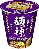 明星 麺神カップ 極旨魚介醤油 96g ×12個