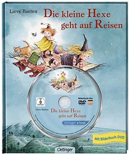 Die kleine Hexe geht auf Reisen Bilderbuch mit DVD