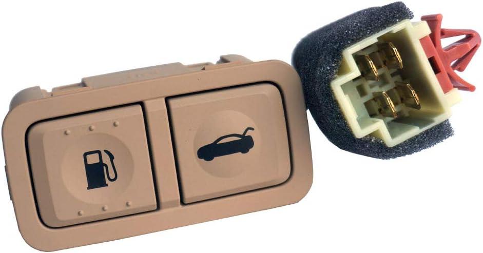 Trunk Lid Switch Fuel Fashion Door Release 93700-3S0 Max 67% OFF Button Beige Opener
