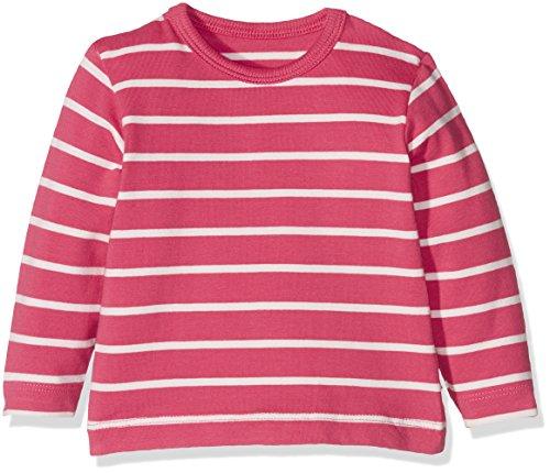 Fixoni Langarm Shirt Hauts à Manches Longues, Rouge (Claret Red 17-1740), 6 Mois Bébé Fille
