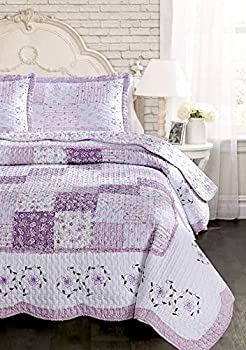 Best purple flower bedding Reviews