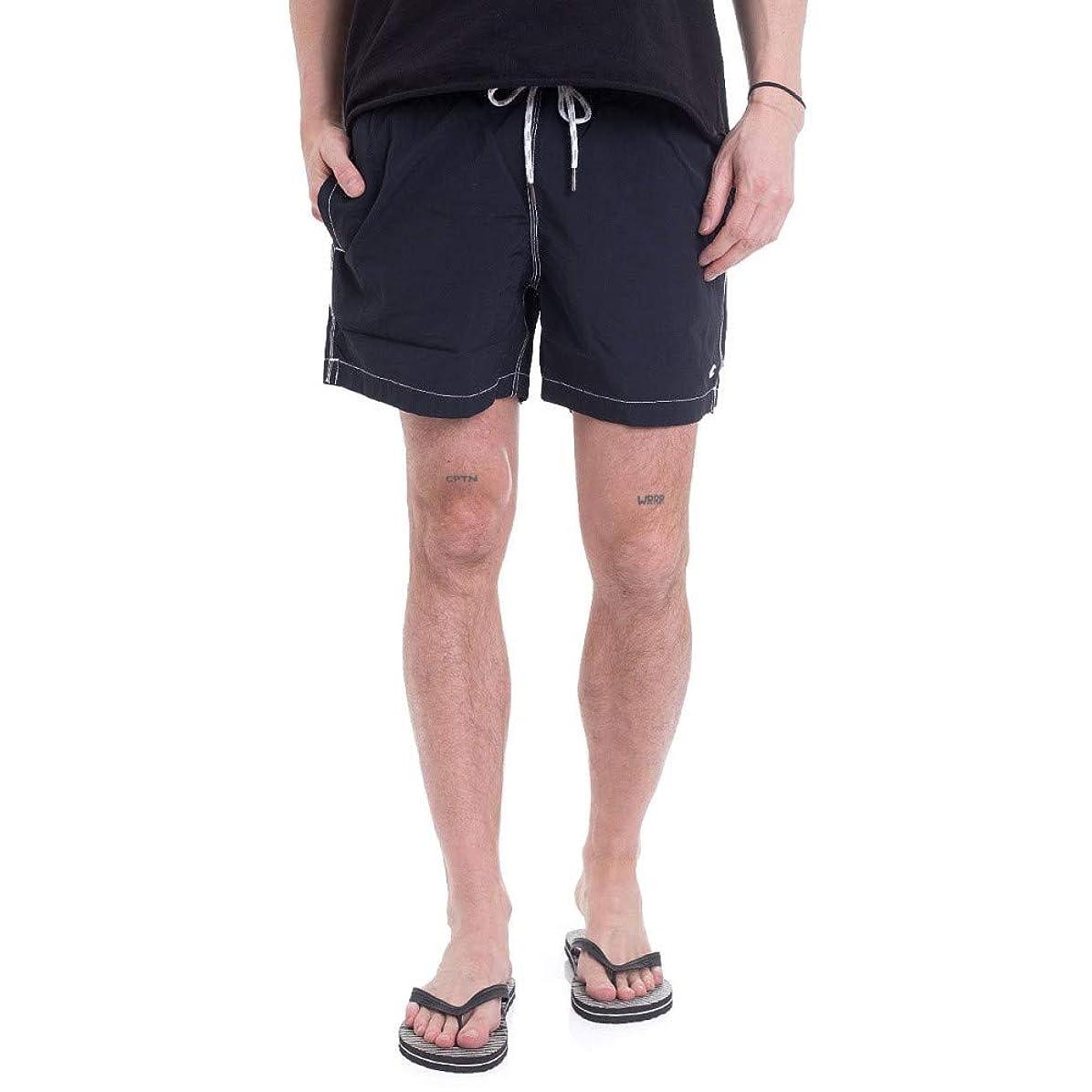 暴君文字通りメタン(チャンピオン) Champion メンズ 水着?ビーチウェア 海パン Beachshort New Navy Board Shorts [並行輸入品]