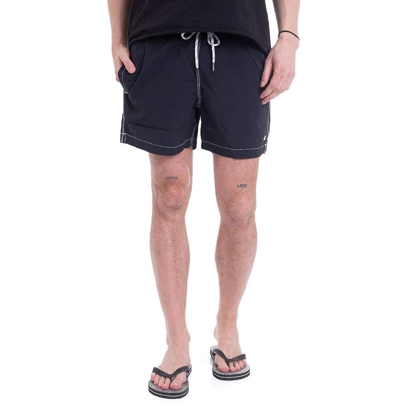 救急車商標ネット(チャンピオン) Champion メンズ 水着?ビーチウェア 海パン Beachshort New Navy Board Shorts [並行輸入品]
