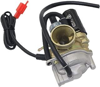 Backbayia Kit Carburador para Honda Dio 50 18 27 28 SA50 SK50 SYM DD50 Kymco ZX34 35 28 50 cc 2 tiempos Scooters