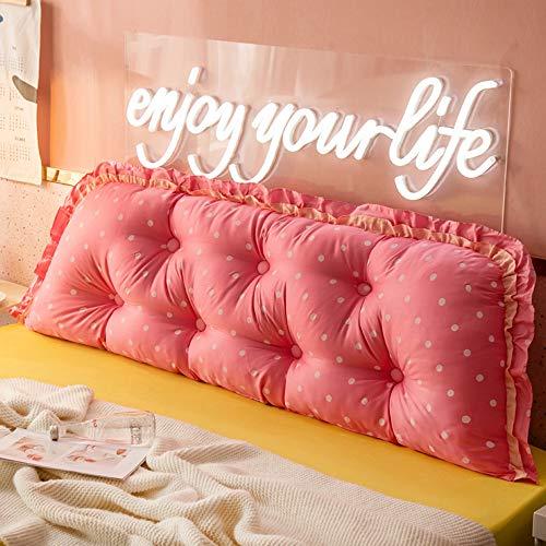 kudde sänggavel stor kudde, mjuk väska, avtagbar ryggstöd, stort ryggstöd, soffa lång, säng rygg (H; 210 cm)