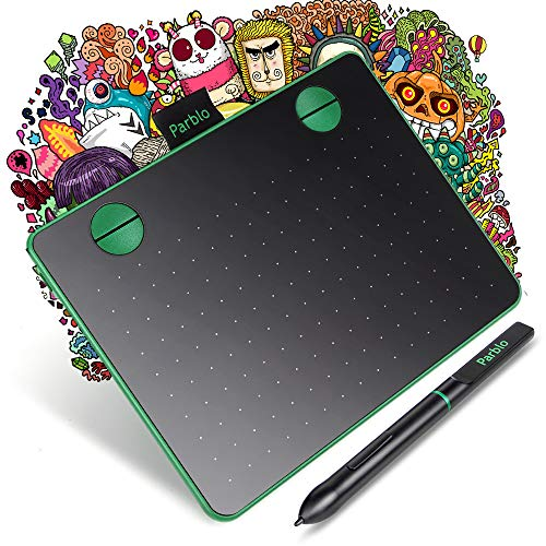 Parblo A640 Tableta Gráfica Digitalizadora 6 x 4 Pulgadas p