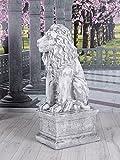 Unbekannt Löwenfigur Garten Löwe Antik Skulptur Gartenfigur Statue Torwächter yac040 Palazzo Exklusiv