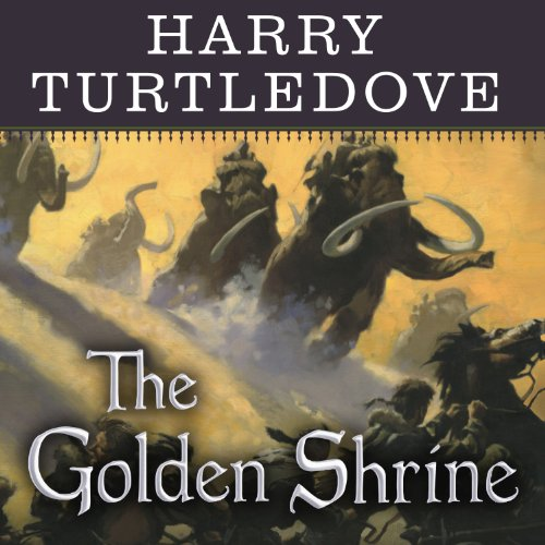 The Golden Shrine audiobook cover art