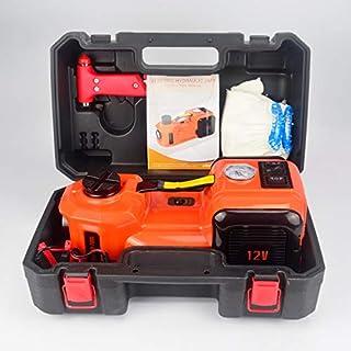 ZERTRAN DC12V Auto elektrische hydraulische Wagenheber 5 Tonnen für Auto Limousine Van SUV