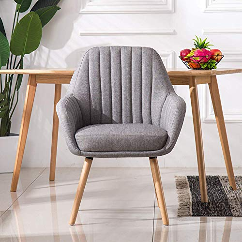 Homy Grigio Dining Chairs Living Room Chairs Accent Chair Mid-Century Modern...