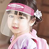 TBSDQLTEV 2 PACK Shield Double Side Protective Film Protect Eyes & Face, Breathable - Visible - Windproof - Dustproof for Kids Girls