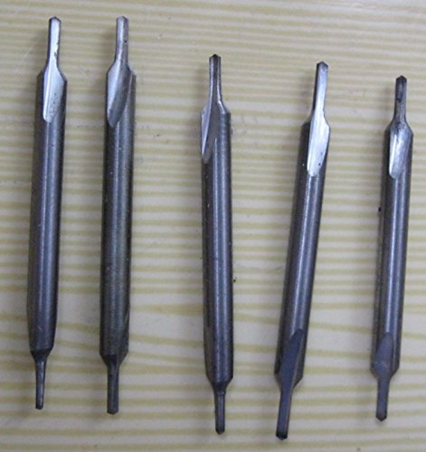 10 PCS D 1,6 mm CENTER CARBIDE DRILLS COMBINED