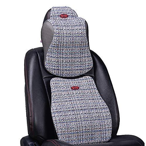 CaoDquan Lumbar steun kussen Memory Foam kussen rug kussen verminderen rug wasbare hoezen geschikt voor auto stoel bureaustoel en rolstoel