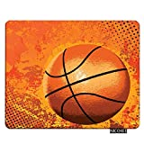 Nicokee Sports Gaming Mousepad Sports Basketball Mouse Pad Rectangle Mouse Mat for Computer Desk Laptop Office 9.5 X 7.9 Inch Non-Slip Rubber