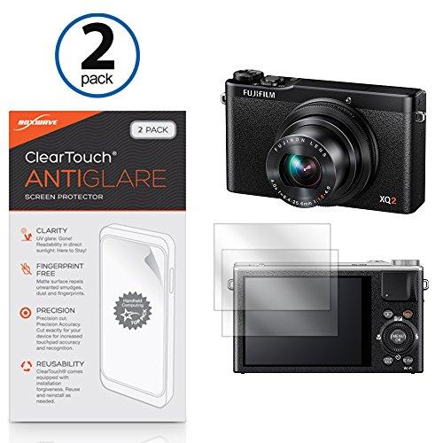 Fujifilm XQ2Protector de pantalla, BoxWave® [ClearTouch Anti-brillos (2-Pack)] antihuellas mate película piel Para Fujifilm XQ2| FinePix XP80