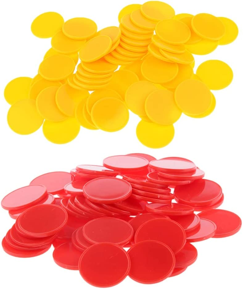 TX GIRL 200PCS Set Bingo Chips Poker New products world's highest quality popular Ranking TOP16 Plastic Markers