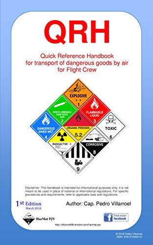 QRH DG: Quick Reference Handbook for transport of dangerous goods by air for Flight Crew