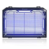 Micnaron 2021 Newest Electric Mosquito Killers Mosquito Lamp w/UV LED Light, 2000V Powerful Bug Zapper Insect Pest Control Trap Catcher Indoor Noiseless No Radiation