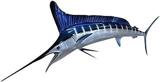 White/Blue Marlin Fish, Fish Replica, Fishing Wall & Coastal Decor