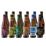 La Sagra Pack Degustación de Cerveza Artesanal 6 estilos - 12 botellas x 330 ml - Total: 3960 ml