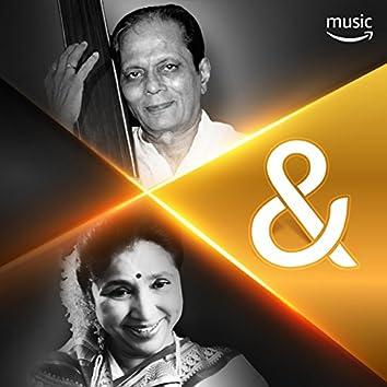 Sudhir Phadke & Asha Bhosle: TOGETHER