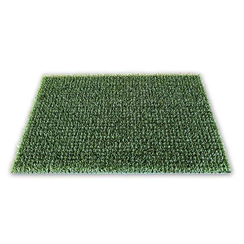 KAISER PLASTIC® Fußmatten | für außen und innen | 40 x 60 cm | Klassisch Grün