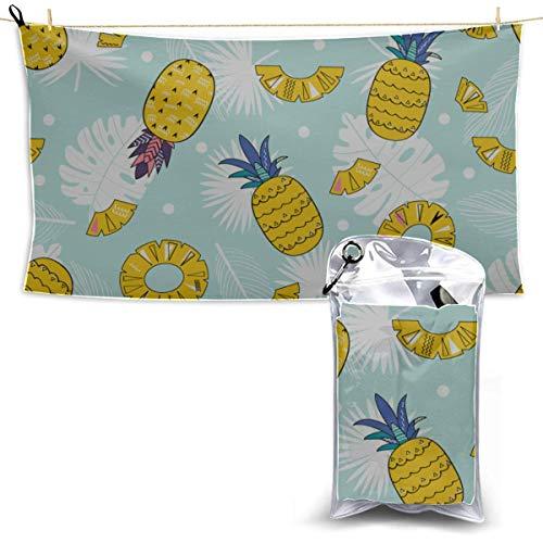 Toallas Beach Towels Shower Towels Toallas de natación para hombres Moda Verano Fruta colorida Toalla deportiva para hombres Bathroom Towels 160X80CM