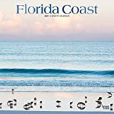 Florida Coast 2021 12 x 12 Inch Monthly Square Wall Calendar with Foil Stamped Cover, USA United States of America Southeast State Nature