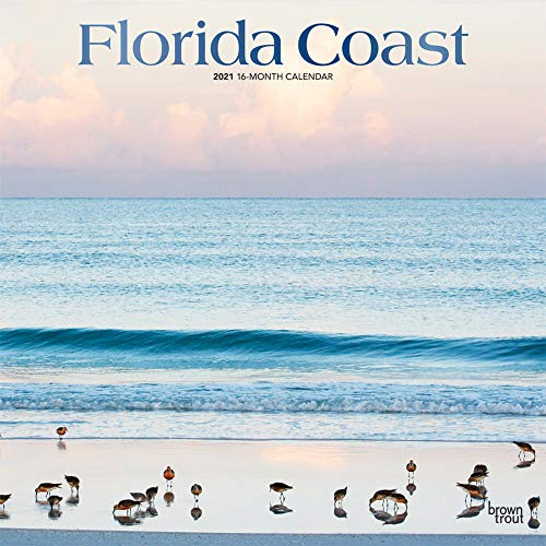 Florida Coast - Floridas Küste 2021 - 16-Monatskalender: Original BrownTrout-Kalender [Mehrsprachig] [Kalender] (Wall-Kalender)