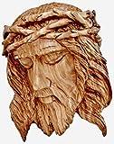 Bethlehem Casting Placa de pared con cabeza de Jesús con la corona de espinas