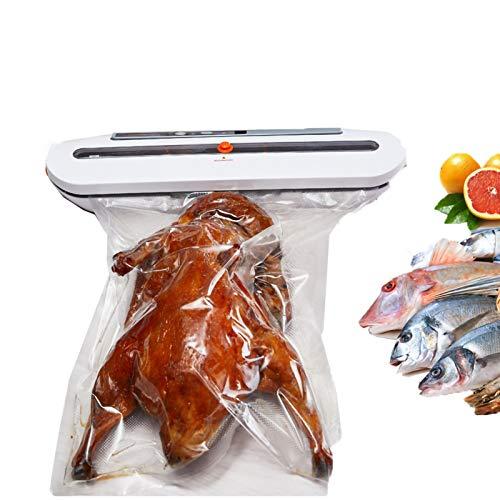 Máquina Selladora Al Vacío, Máquina Selladora Automática De Alimentos,para La Conservación De Alimentos Frescos Secos Y Húmedos, Adecuada para Acampar Y En El Hogar