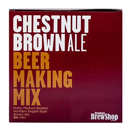 Brooklyn Brew Shop Chestnut Brown Ale Beer Making Mix, 5.5 x 5.5 x 5.5 inches