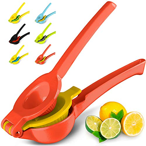 Top Rated Metal Lemon Lime Squeezer - Manual Citrus Press Juicer