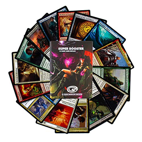 Cosmic Games MTG Super Booster Pack – 15 Rares Guaranteed | Magic The Gathering Cards | Possible Foils, Mythics and Planeswalkers | Features Cards from All Sets | All Cards Rare or Better