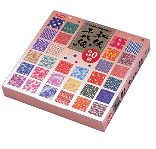 Origamipapier Origami-Großpackung , 23-1999, 30 Muster Print Washi Chiyogami , 150 Blatt