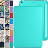iPad 12.9 Case 2017 2nd Generation with Slim Fit Dual-Angel Stand & Hard PC Clear Back [Protective Smart Cover] for iPad 12.9' 2 Gen [Auto Sleep/Wake] - Green